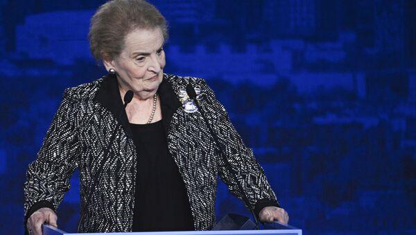 Madeleine Albright - Sputnik Việt Nam