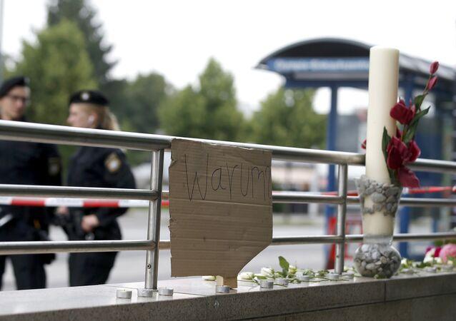Biển tại sao tại chỗ xả súng tại Munich