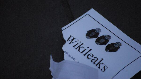 Wikileaks - Sputnik Việt Nam