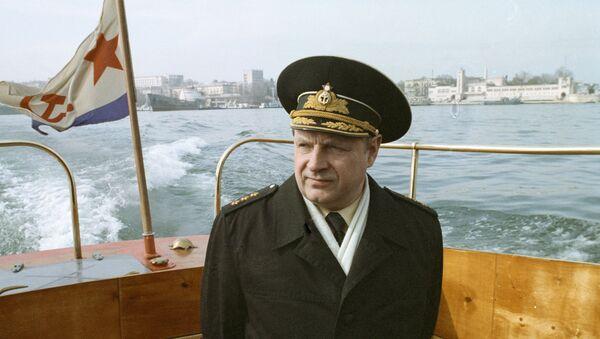 Đô đốc Phó Tư lệnh Hải quân (1992-1999) Igor Kasatonov - Sputnik Việt Nam