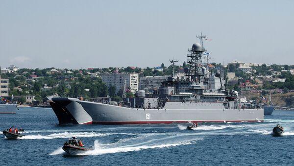 Tàu đổ bộ lớn Azov - Sputnik Việt Nam
