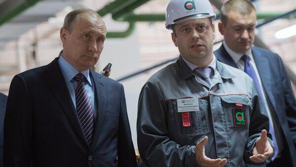 Tổng thống Putin tham gia khởi động nhà máy đầu tiên sản xuất kim loại đất hiếm ở LB Nga - Sputnik Việt Nam