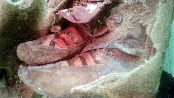 Chu du qua các kỷ nguyên lịch sử: Phát hiện  xác ướp cổ 1500 năm đi giày thể thao - Sputnik Việt Nam
