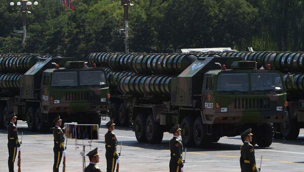 Hệ thống tên lửa phòng không tầm xa Hồng Kỳ-9 - Sputnik Việt Nam