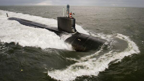 tàu ngầm Mỹ Virginia - Sputnik Việt Nam