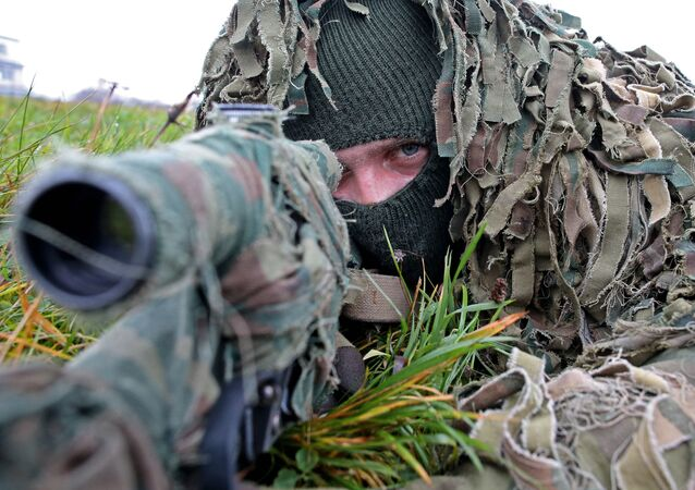 Học viên quân sự Nga là tay súng bắn tỉa tốt nhất