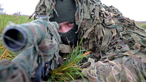 Học viên quân sự Nga là tay súng bắn tỉa tốt nhất - Sputnik Việt Nam