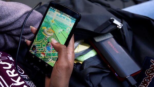 Игра Pokemon Go в мобильном телефоне - Sputnik Việt Nam