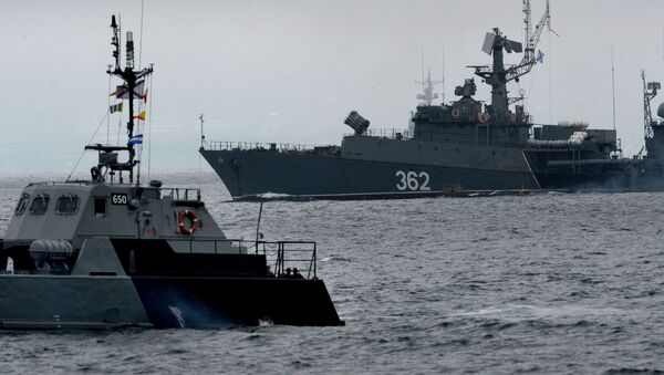 Đội tàu của Hạm đội Thái Bình Dương - Sputnik Việt Nam