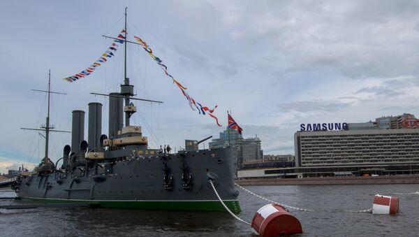 Tàu tuần dương Rạng Đông - Sputnik Việt Nam