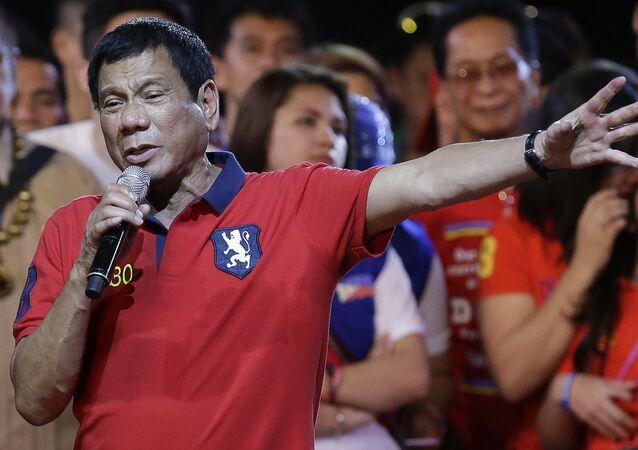 Tổng thống Philippinesy Rodrigo Duterte