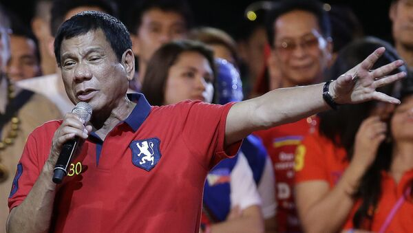 Tổng thống Philippinesy Rodrigo Duterte - Sputnik Việt Nam