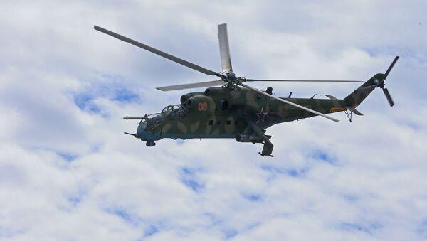 máy bay trực thăng tấn công Mi-35 - Sputnik Việt Nam