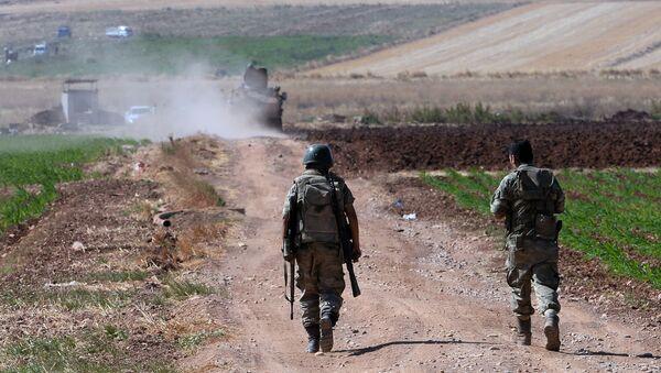 biên giới Syria-Thổ Nhĩ Kỳ - Sputnik Việt Nam