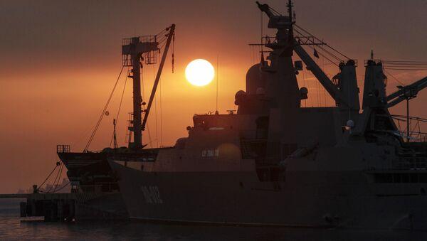 Tàu Lý Thái Tổ của Hải Quân Việt Nam - Sputnik Việt Nam
