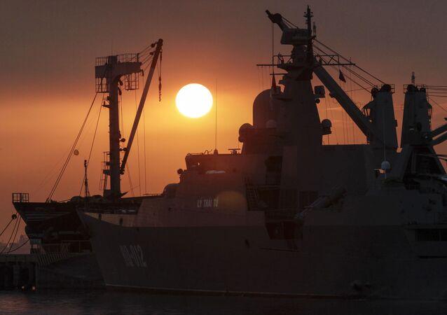 Tàu Lý Thái Tổ của Hải Quân Việt Nam