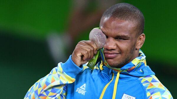 vận động viên Ukraina môn vật Hy Lạp-La Mã Jan Belenyuk - Sputnik Việt Nam