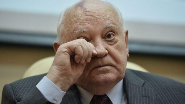Tổng thống đầu tiên của Liên Xô Mikhail Gorbachev  - Sputnik Việt Nam