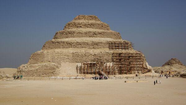 kim tự tháp Djoser ở Ai Cập - Sputnik Việt Nam