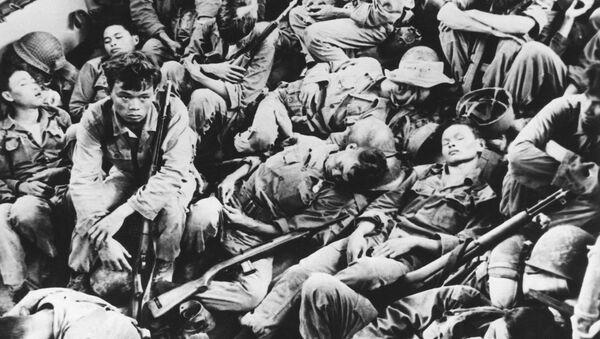 Những người lính trong Chiến tranh Việt Nam - Sputnik Việt Nam