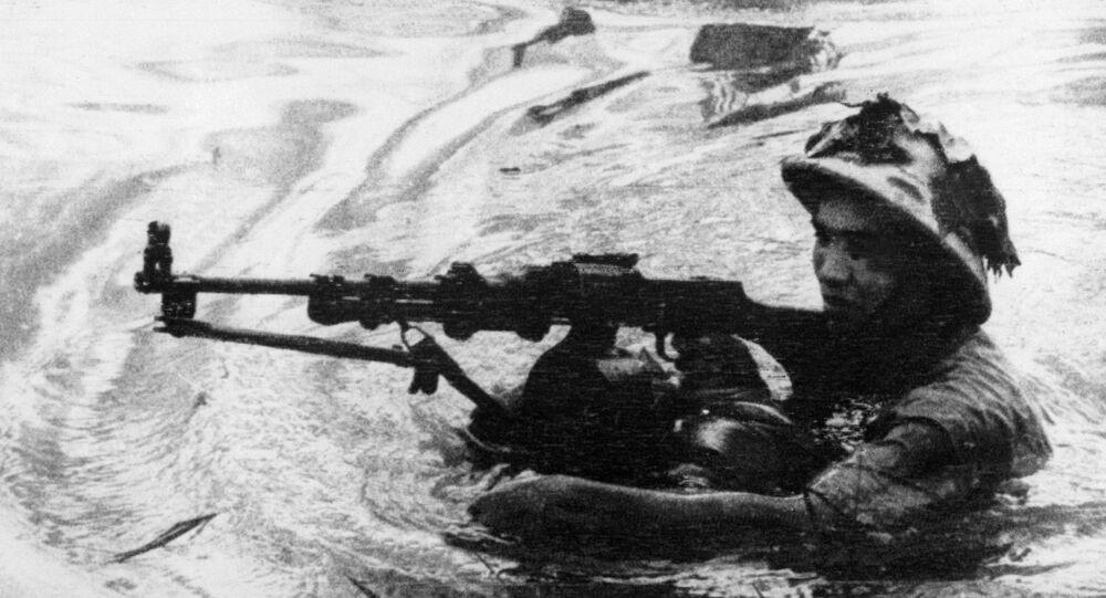 Những người lính vượt sông trong Chiến tranh Việt Nam
