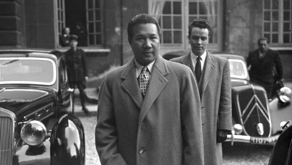 Cựu Hoàng đế Bảo Đại ở Paris, năm 1948 - Sputnik Việt Nam