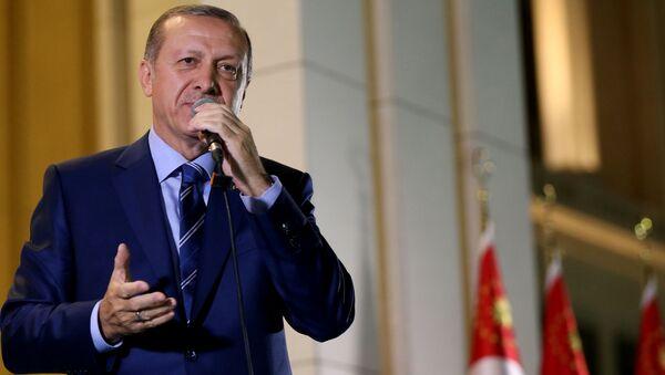 Thổ Nhĩ Kỳ Recep Tayyip Erdogan - Sputnik Việt Nam