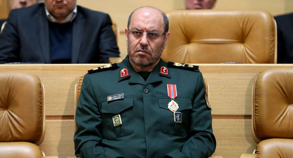 Bộ trưởng Quốc phòng Iran Hossein Dehgans