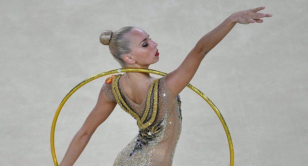 Nữ thể dục nghệ thuật Yana Kudryavtseva