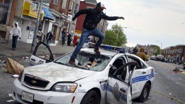 Bạo loạn ở Baltimore - Sputnik Việt Nam