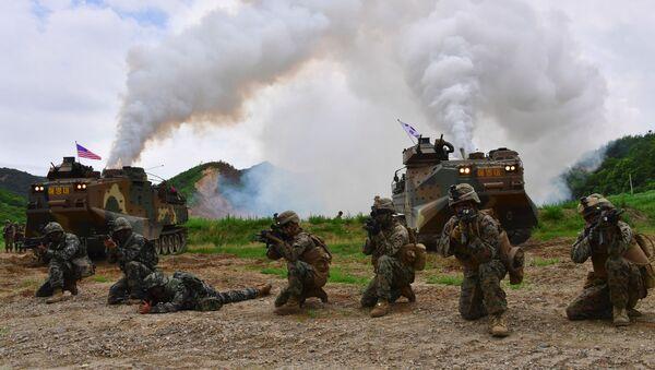 Mỹ và Hàn Quốc tập trận quân sự - Sputnik Việt Nam