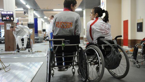 VĐV Paralympic Nga - Sputnik Việt Nam