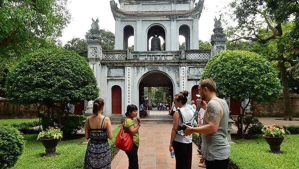 Khách du lịch ở Hà Nội - Sputnik Việt Nam