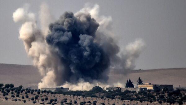 Quân đội Thổ Nhĩ Kỳ đã phát động chiến dịch quân sự để giải phóng thành phố Dzharablus miền bắc Syria khỏi  nhóm Nhà nước Hồi giáo (IS, bị cấm ở Nga). - Sputnik Việt Nam