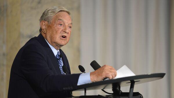 Tỷ phú Mỹ George Soros - Sputnik Việt Nam