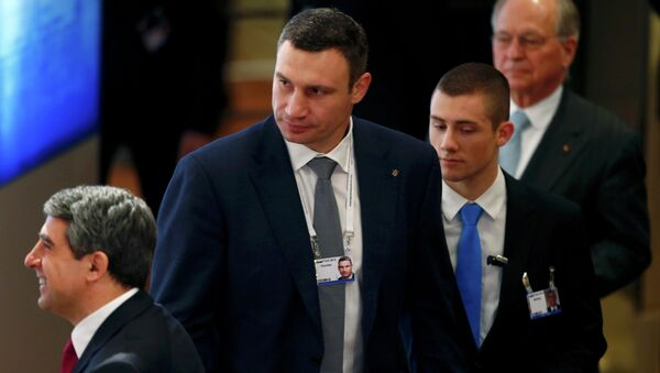 Thị trưởng Kiev Vitali Klitschko - Sputnik Việt Nam