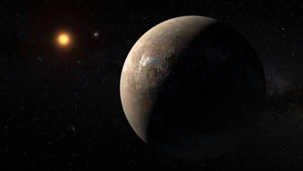 Phát hiện ra hành tinh giống trái đất cạnh ngôi sao gần nhất với Mặt trời - Sputnik Việt Nam
