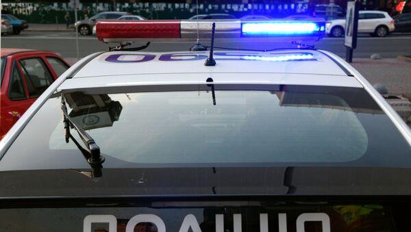 Xe  cảnh sát Ukraina - Sputnik Việt Nam