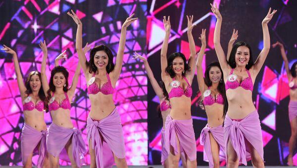Các thí sinh dự thi Hoa hậu Việt Nam 2016 - Sputnik Việt Nam