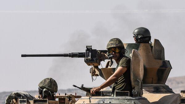 Lực lượng vũ trang Thổ Nhĩ Kỳ ở phía bắc Syria - Sputnik Việt Nam