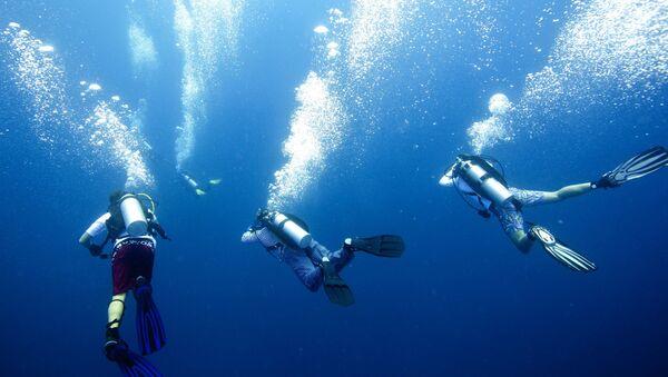Người lặn có mang thiết bị - Sputnik Việt Nam