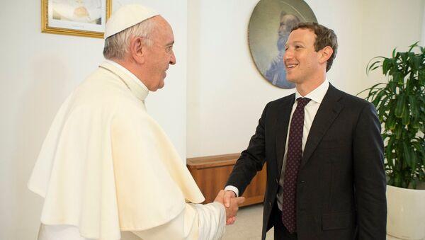 Đức Giáo Hoàng đã gặp Mark Zuckerberg - Sputnik Việt Nam