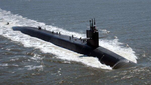 tàu ngầm hạt nhân Mỹ USS Florida - Sputnik Việt Nam
