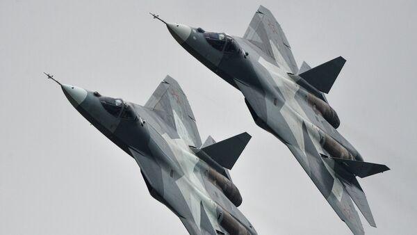 Máy bay đa chức năng T-50 - Sputnik Việt Nam