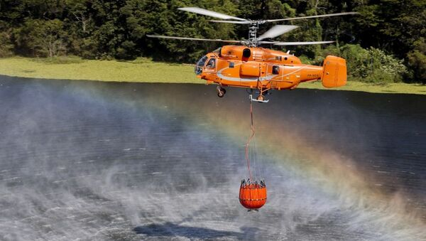 Máy bay trực thăng chữa cháy Ka-32A11BC - Sputnik Việt Nam