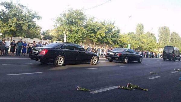 Ташкент провожает Каримова в последний путь - Sputnik Việt Nam