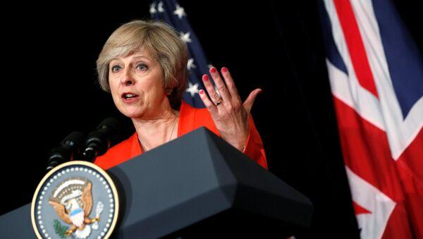 Thủ tướng Anh Theresa May - Sputnik Việt Nam
