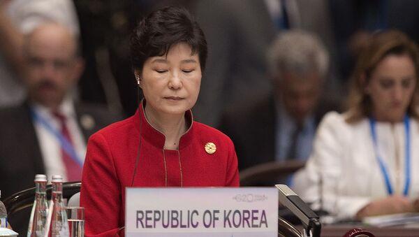 Tổng thống Hàn Quốc Park Geun-hye tại Hội nghị thượng đỉnh G20 ở  Hàng Châu - Sputnik Việt Nam