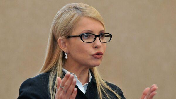 """Người đứng đầu phe nghị viện """"Tổ quốc Yulia Tymoshenko - Sputnik Việt Nam"""