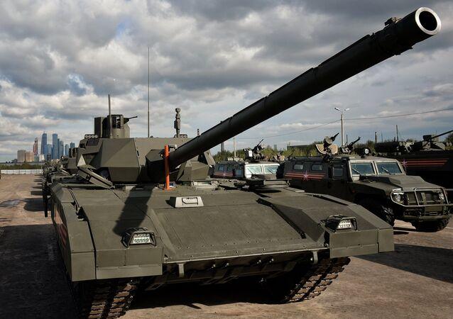 """xe tăng """"Armata"""""""